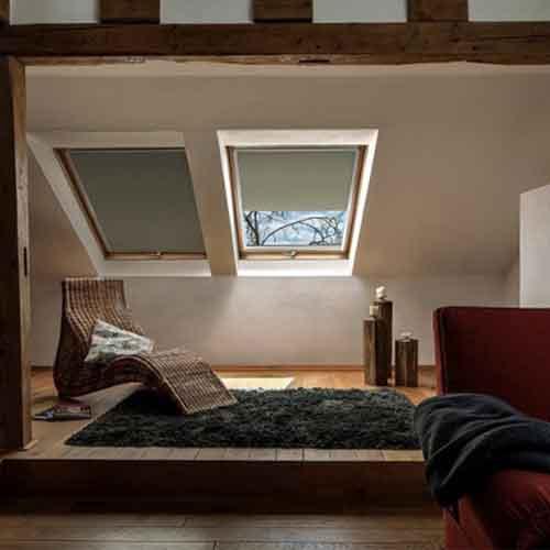 Cortina Wohndachfesnter bei GEISS RAUM+DESIGN
